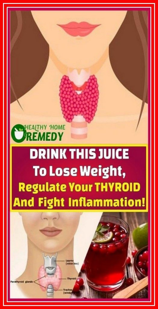 Drink THIS Juice To Lose Weight, Regulate Your Thyroid And Fight Inflammation!