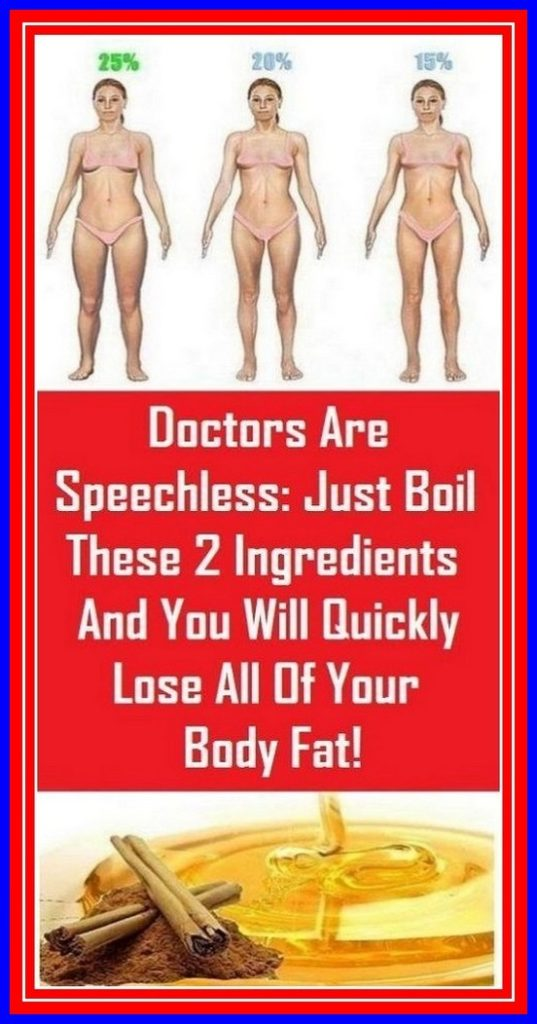 Doctors Are Speechless: Just Boil These 2 ingredients and You Will Quickly Lose Your Body Fat!