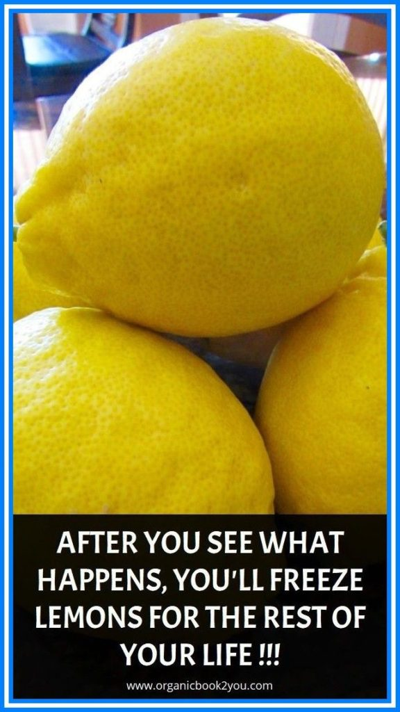 After You See What Happens, You'll Freeze Lemons for the Rest of Your Life!