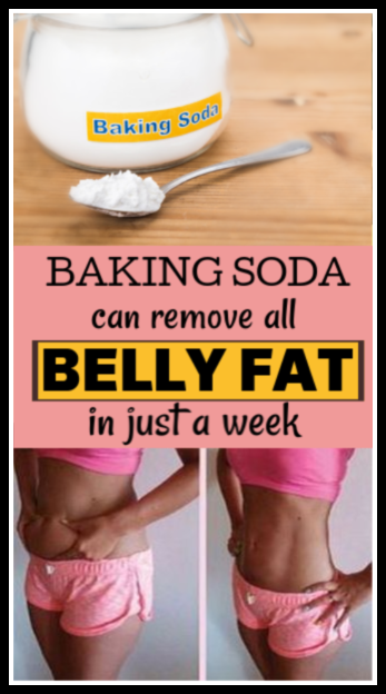 Baking Soda Can Remove All Belly Fat In 1 Week