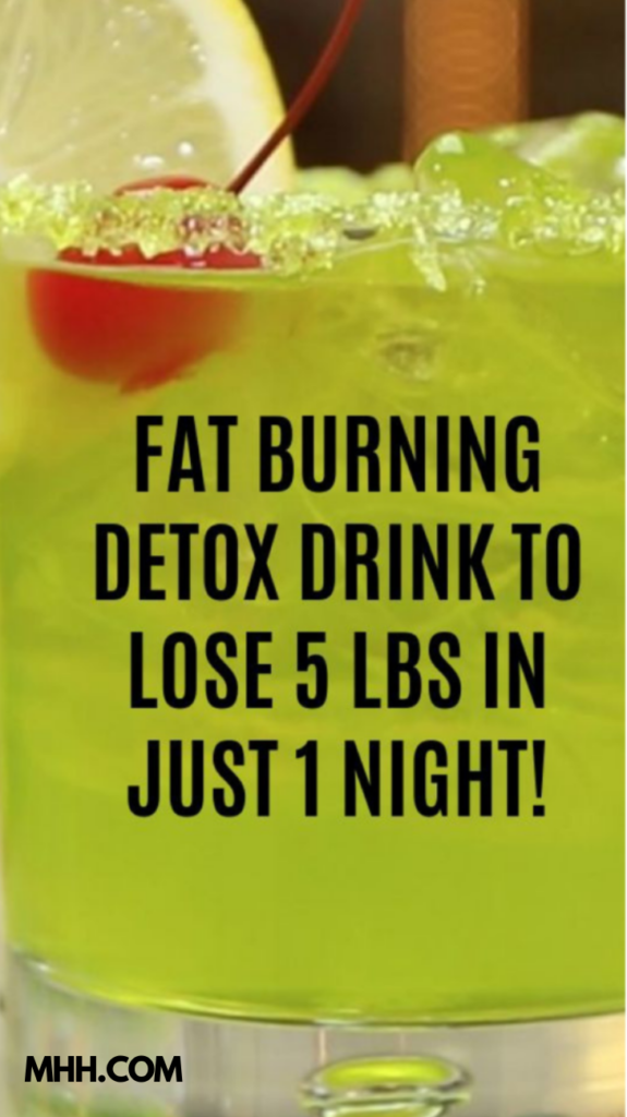 Fat Burning Drinks Before Bed To Lose 10 Pounds In 7 Days